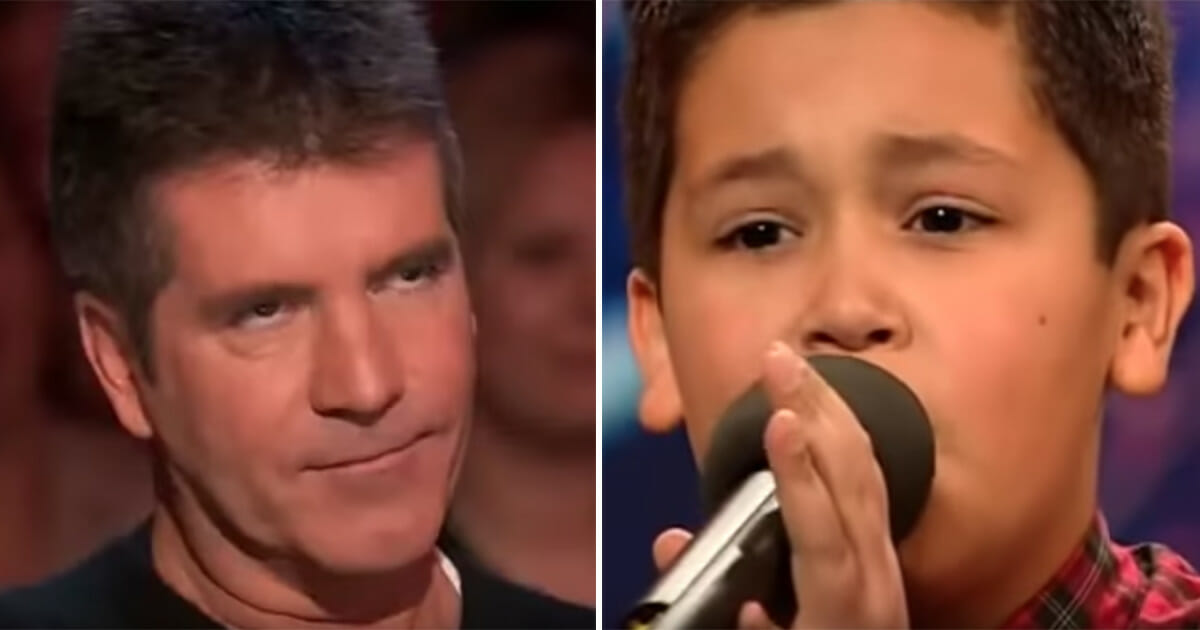 Shaheen Jafargholi, britain's got talent, simon cowell