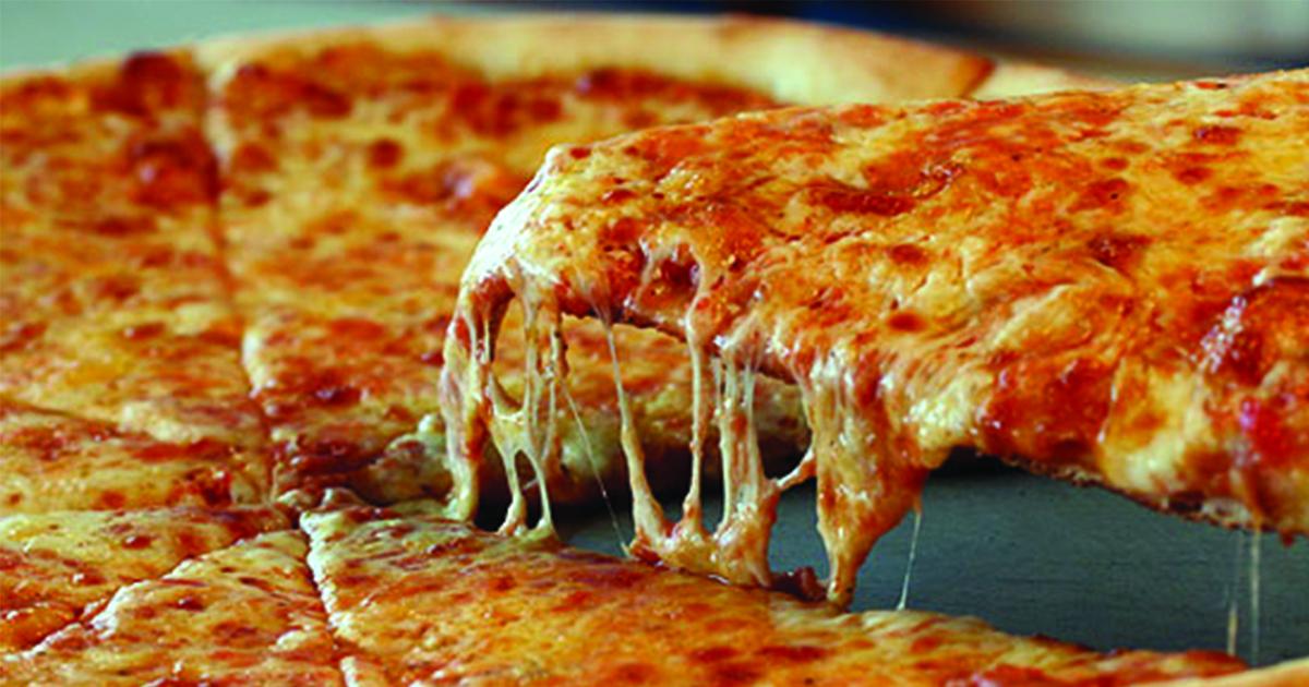Pizza till frukost