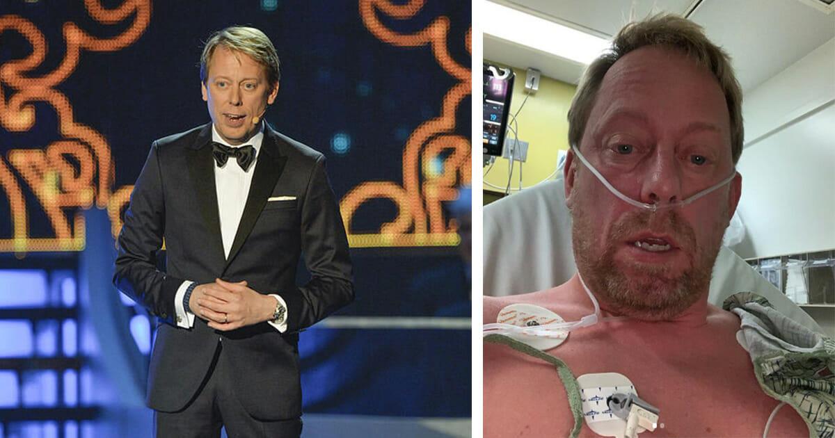Peter Settman akut till sjukhus