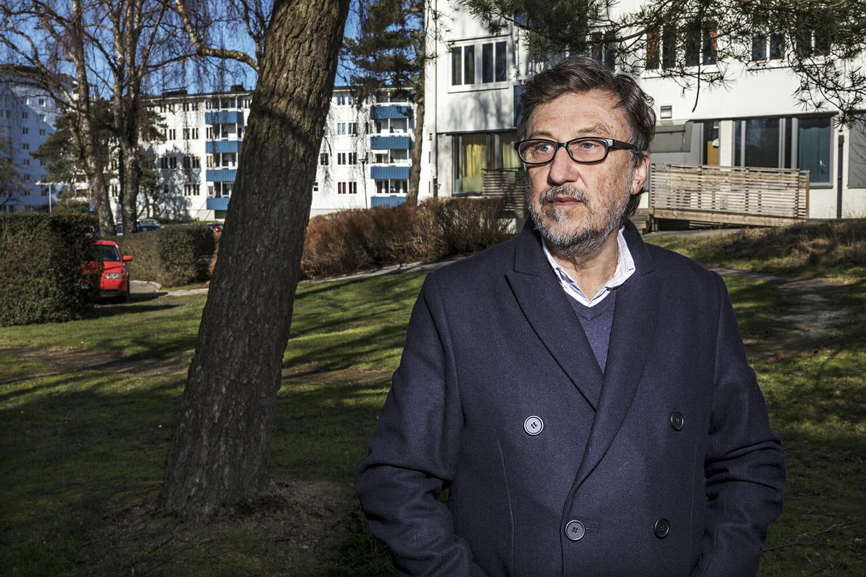 Janne Josefsson. Foto: Janne Danielsson/SVT