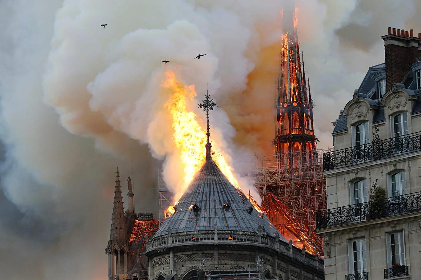 Polisens teori: Därför började det brinna i Notre Dame