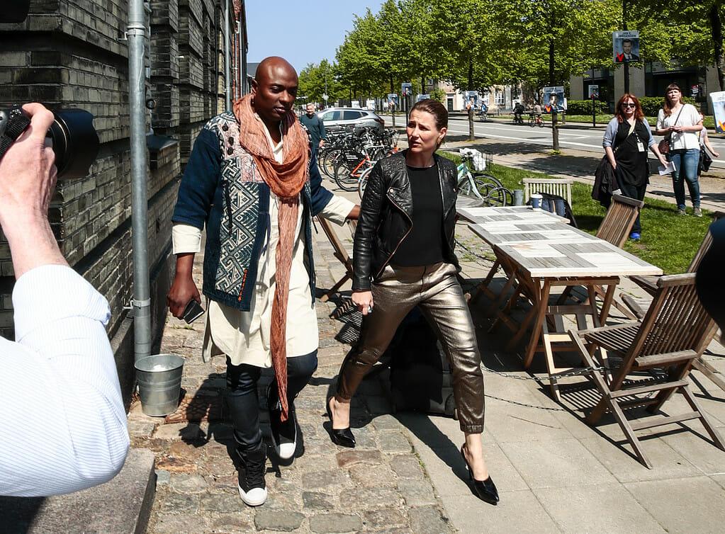KÖPENHAMN 20190519 Prinsessan Märtha Louise och Durek Verrett är i Köpenhamn för att hålla i en workshop. ********** Prinsesse Märtha og Durek Verrett i København, Danmark søndag. Paret skal holde workshop. Foto: Lise Åserud / NTB scanpix / TT
