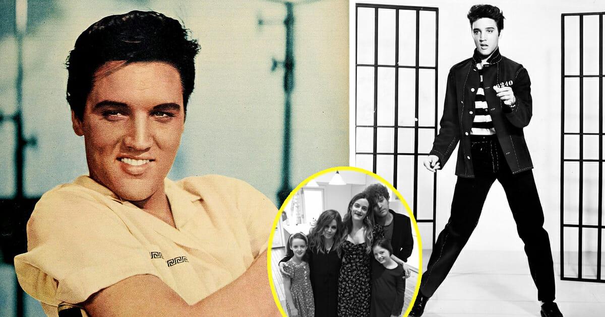 Elvis Presley barnbarn