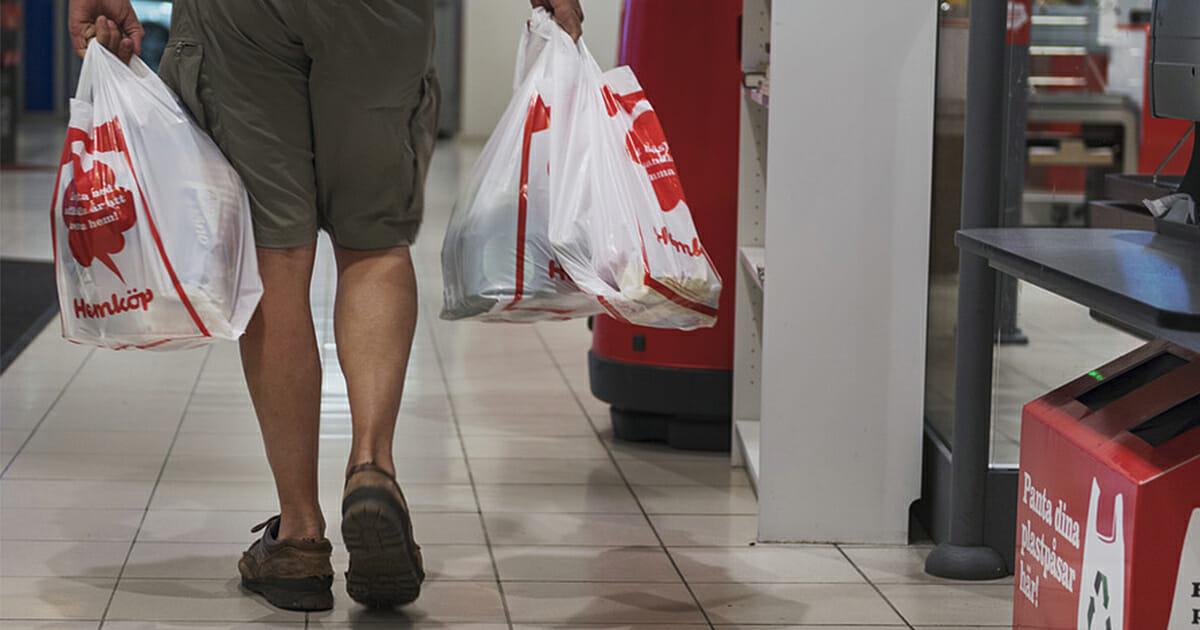 Tyskland förbjuder plastpåsar