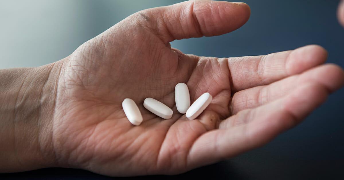 Vanliga värktabletter med paracetamol