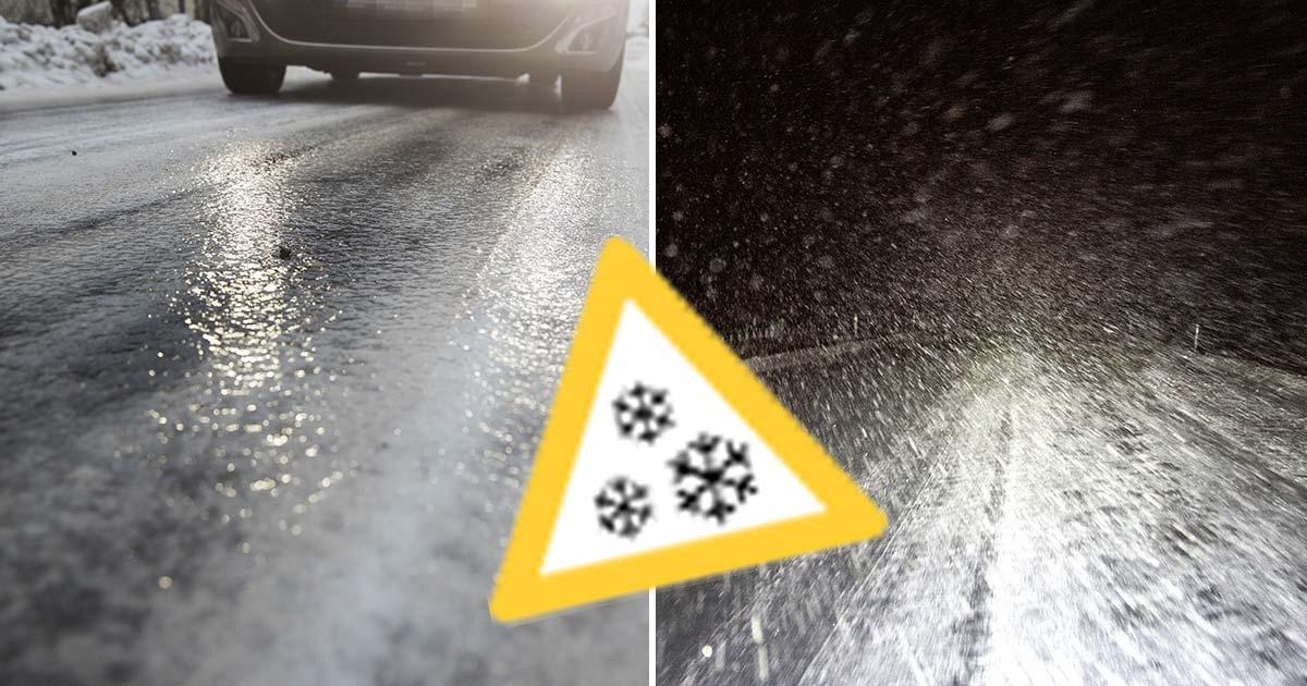 smhi, varning, snöoväder