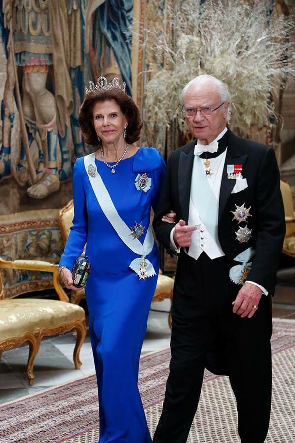 drottning silvia, kung carl xvi gustaf