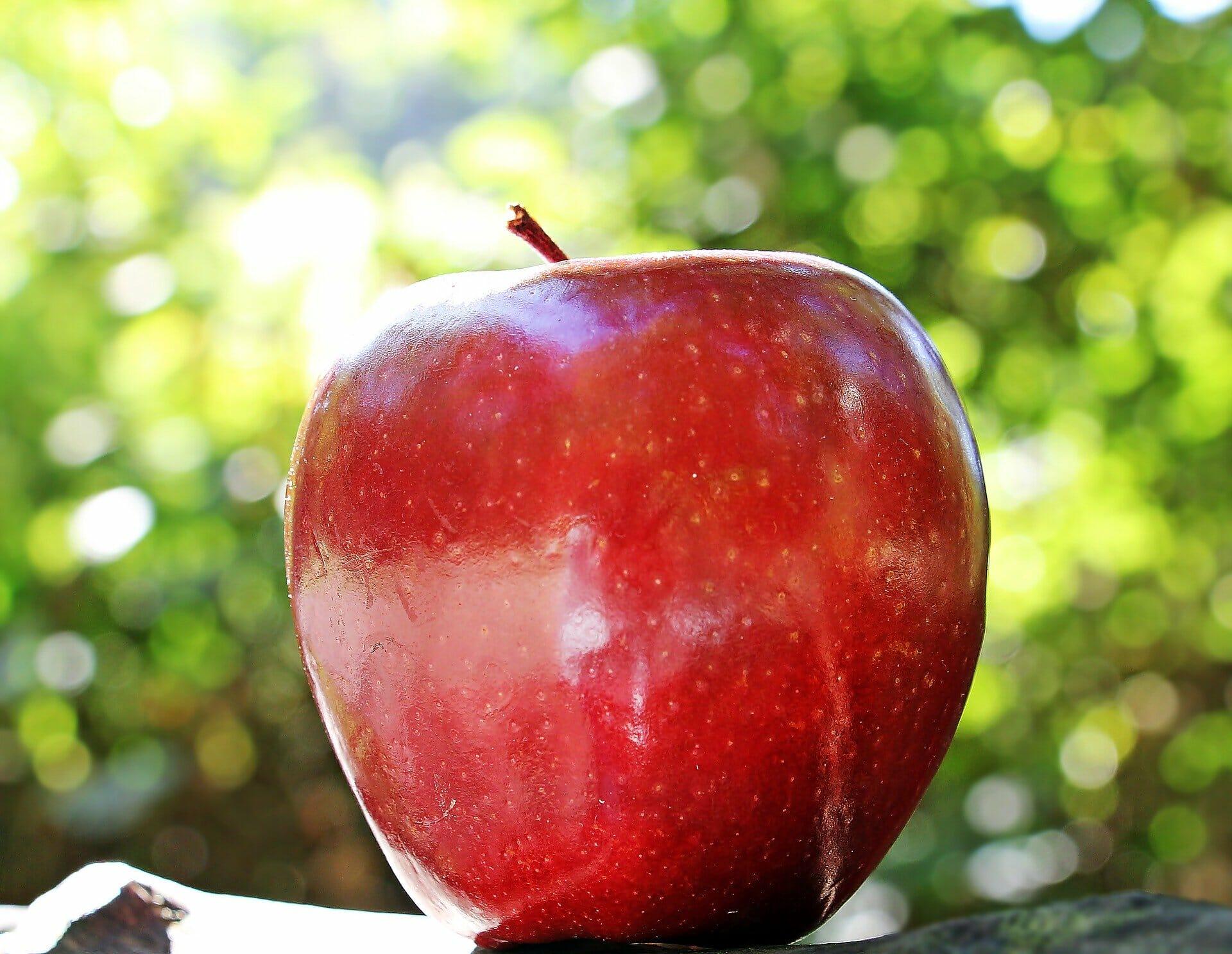 Äta äpple