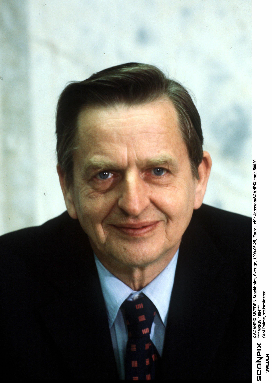 Olof Palme, Sveriges statsminister mördades 1986.