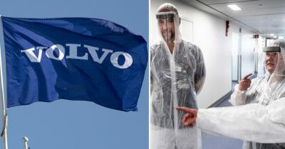 Volvo tillverkar skyddsvisir