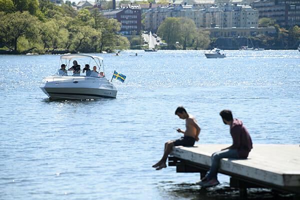 svensk sommar, sommarväder, väder