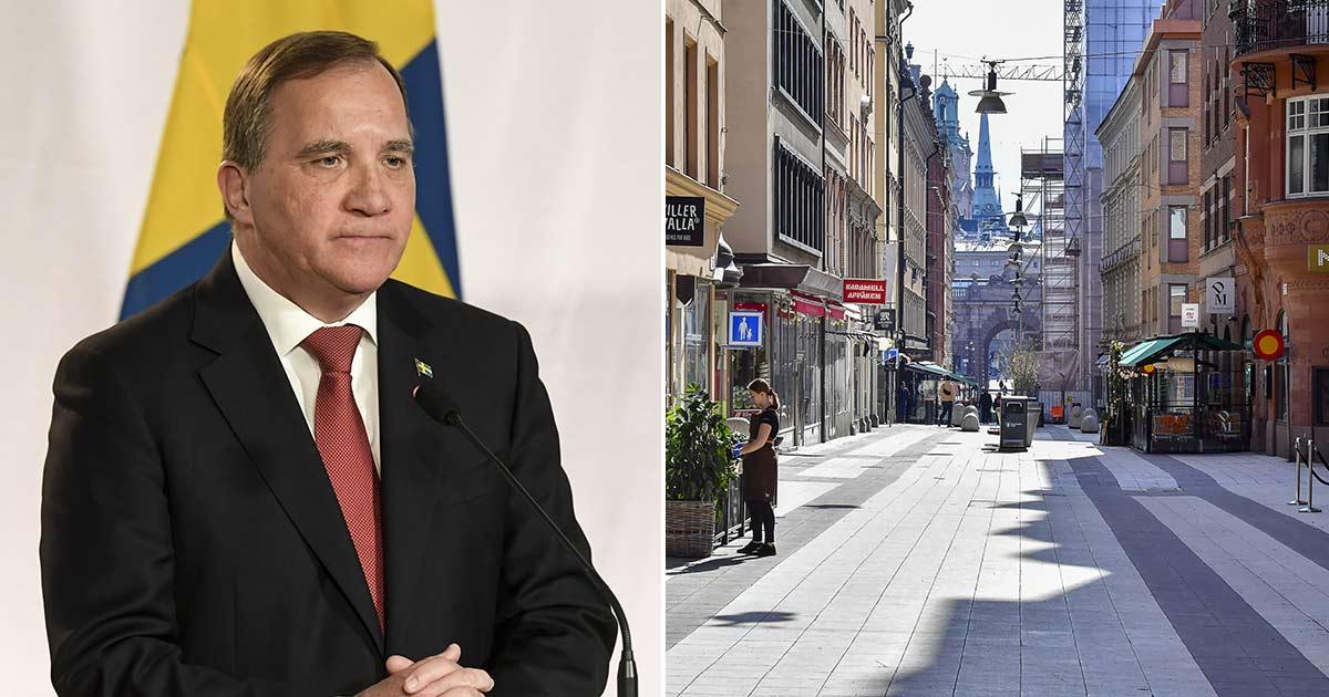 """Stefan Löfvens hyllning – till alla som tar sitt ansvar: """"Tillsammans kommer vi klara det"""""""