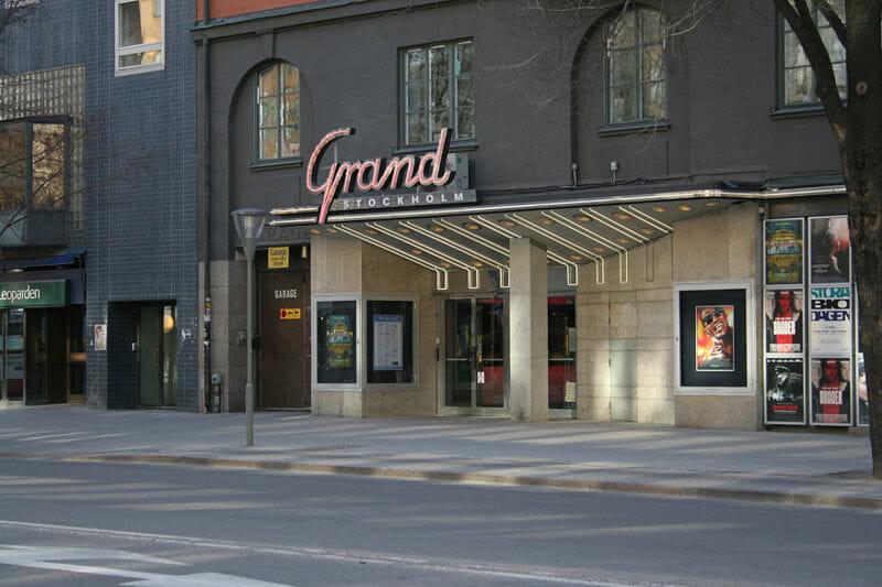 Biografen Grand i Stockholm.