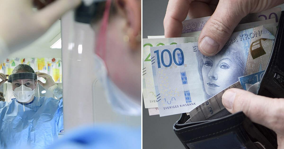 """Här får vårdpersonal löneförhöjning – om de skippar semestern: """"Extrem situation"""""""