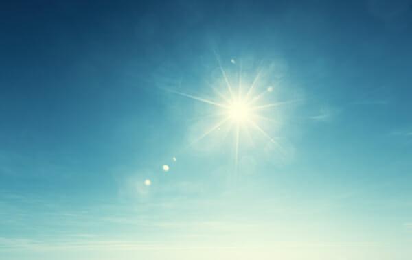 sol, värme