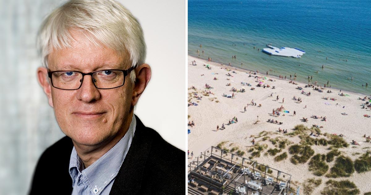 """Efter stora trängseln – Johan Carlson varnar för smitta på svenska turistorterna: """"Ser lagom kul ut"""""""