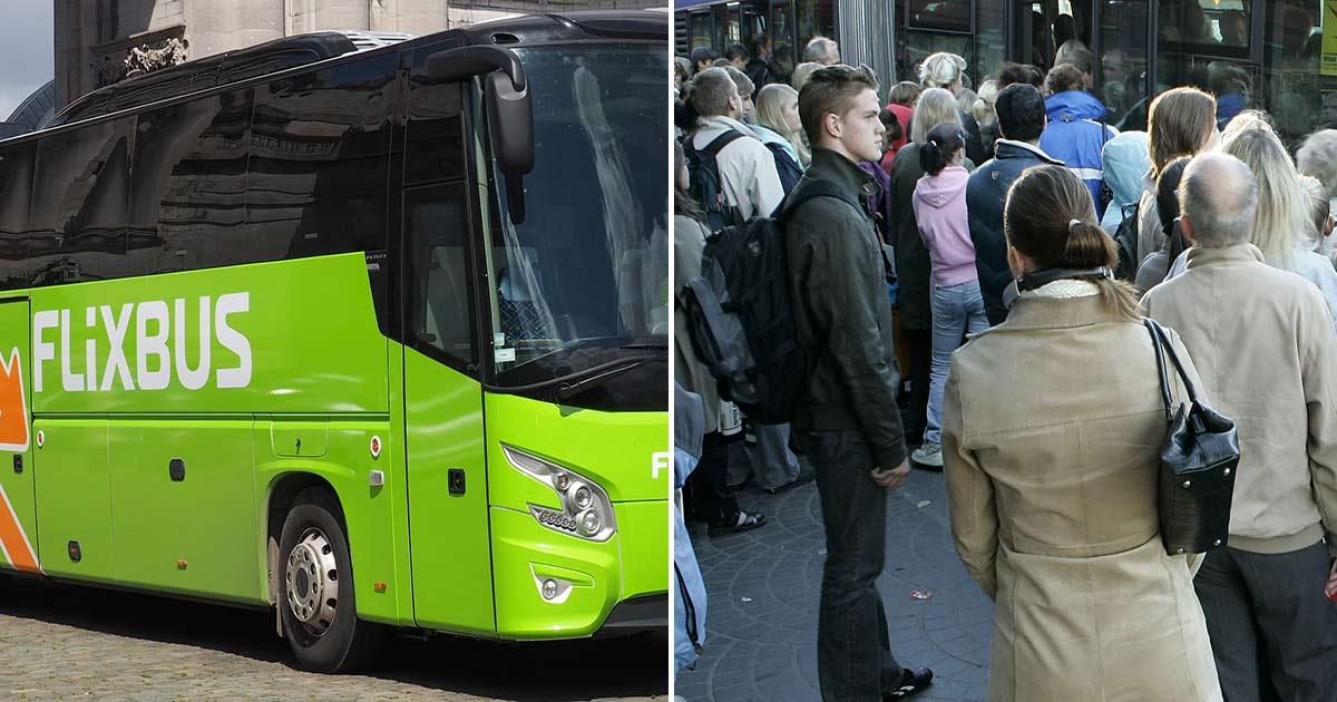 """Resenärer larmar om trängsel på bussar – mitt under coronapandemin: """"Chockad och orolig"""""""