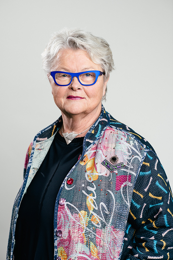 SPF Seniorernas ordförande Eva Eriksson. Foto: Margareta B Sandeback/SPF Seniorerna/pressfoto