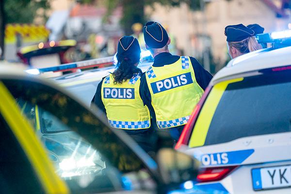 polis, blåljuspersonal