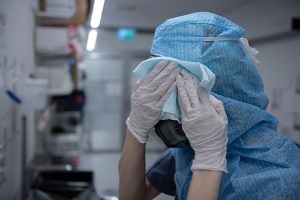 sjuksköterska, coronavirus