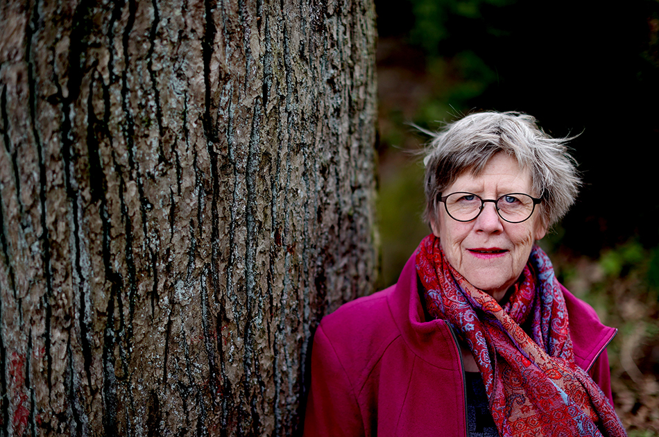 GÖTEBORG 20200430 Agnes Wold, svensk läkare och professor i klinisk bakteriologi vid Sahlgrenska akademin vid Göteborgs universitet. Foto: Adam Ihse / TT