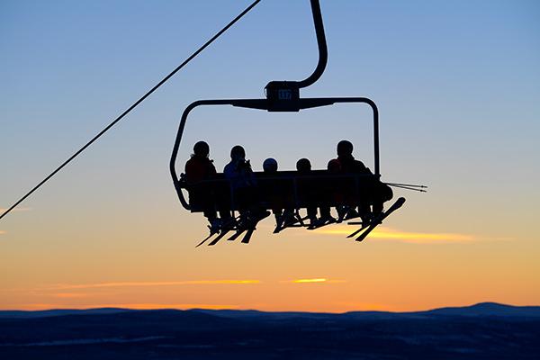 sportlov, skidturister