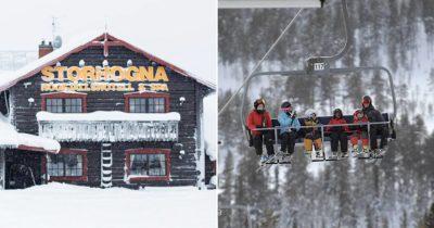 storhogna högfjällshotell, vemdalen, skidåkare, sportlov