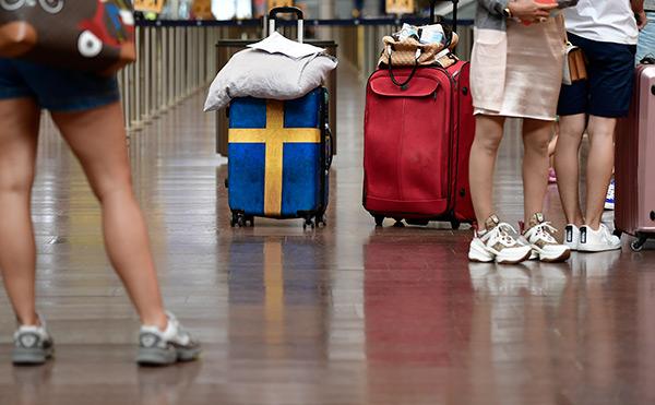svenskar, arlanda