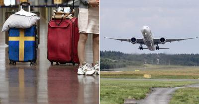 turister, arlanda, flygplan