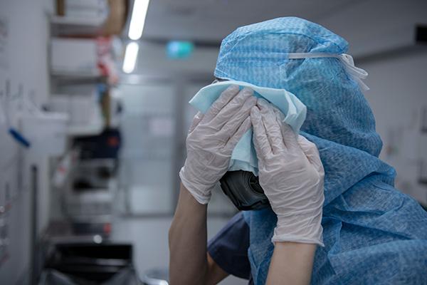 vårdpersonal, sjuksköterska