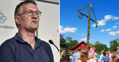 anders tegnell, midsommar
