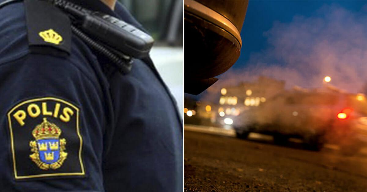 Polis och bilar