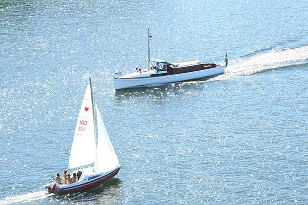 sommar, värme, båtar