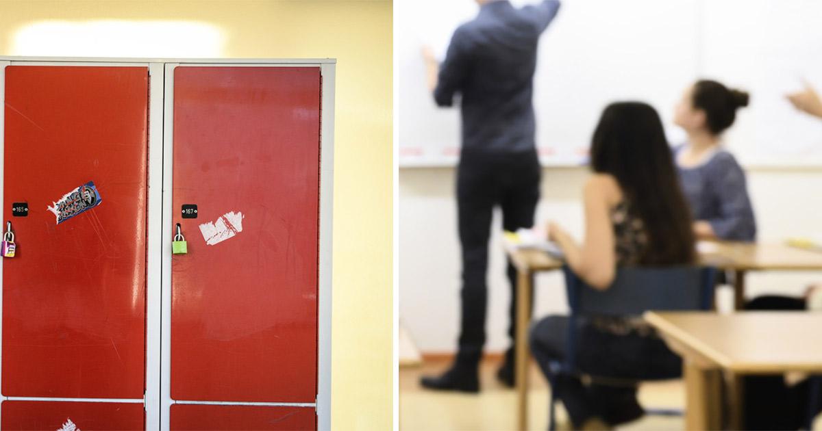 Skolkorridor/Lärare