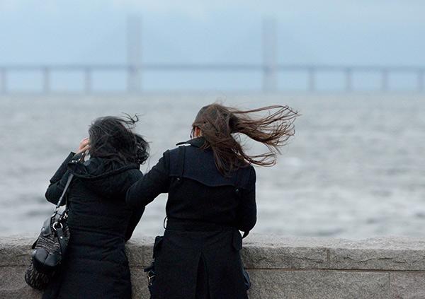 höstväder, hårda vindar
