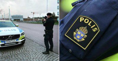 polisen, trafikkontroll, hastighetskontroll