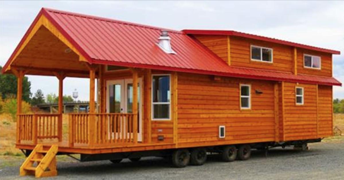 Drewniany domek na k kach ma nieca e 200 m kw jedno for Casa di 750 m