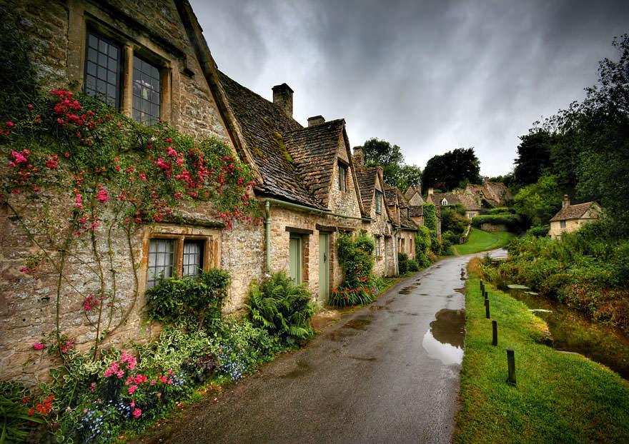 Wioska w Anglii
