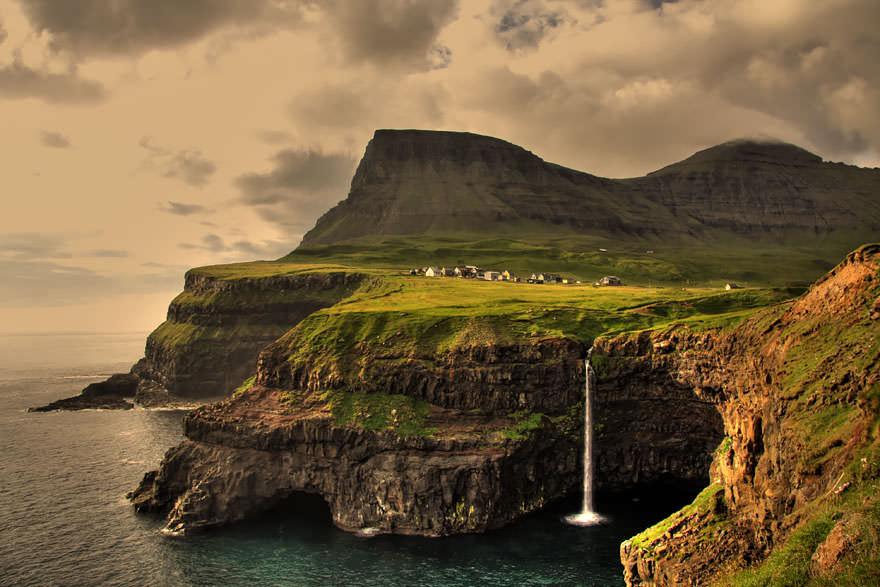 Wioska na Wyspach Owczych