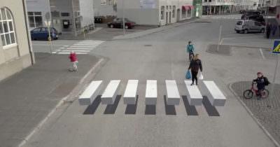 Wyjątkowe przejście dla pieszych