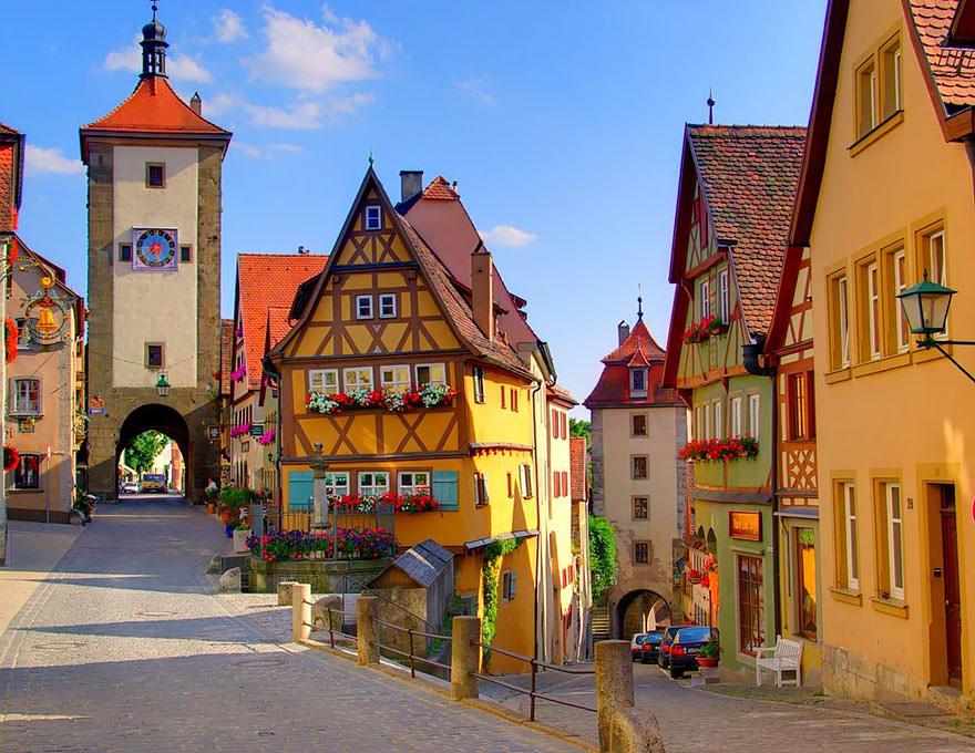 Wioska w Niemczech