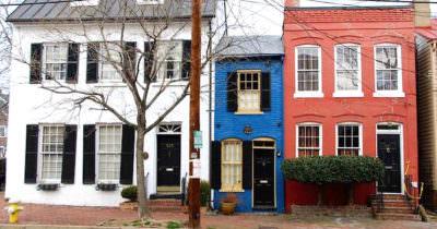 Mały dom - Alexandria, Wirginia, USA