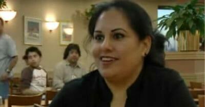 Na zdjęciu znajduje się kelnerka - Melina