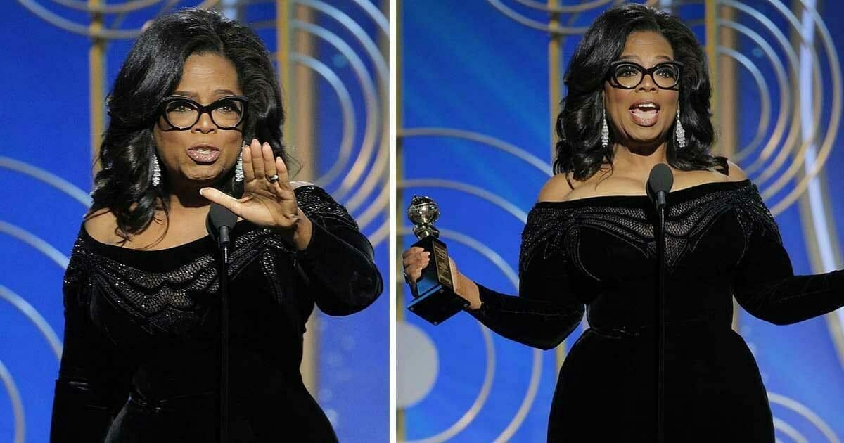 Oprah jest wychwalana za swoje wystąpienie