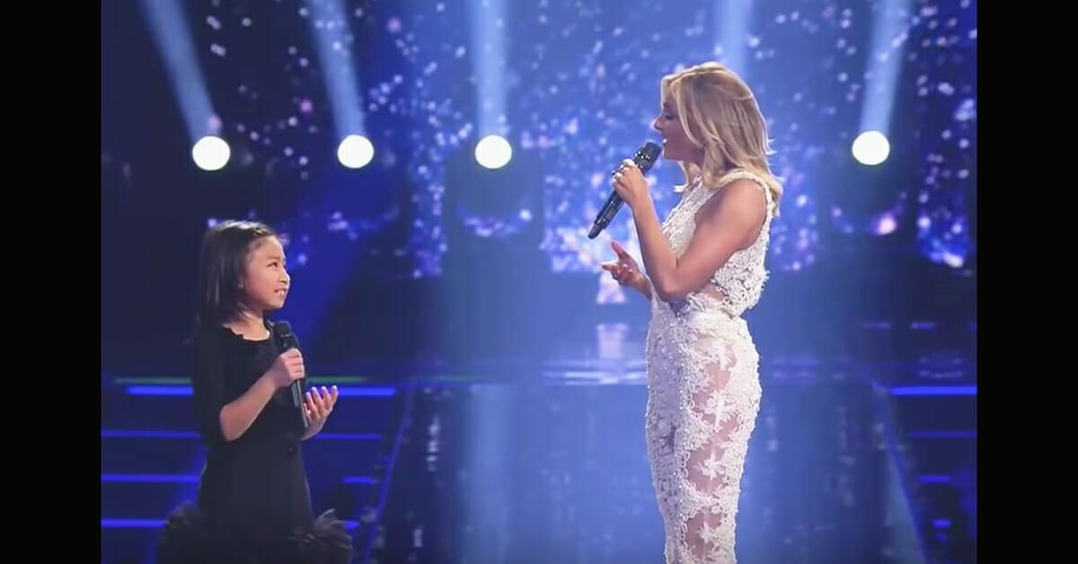 """Gwiazda prosi dziewczynkę, aby zaśpiewała """"You Raise Me Up"""" - chwilę później mam gęsią skórkę"""