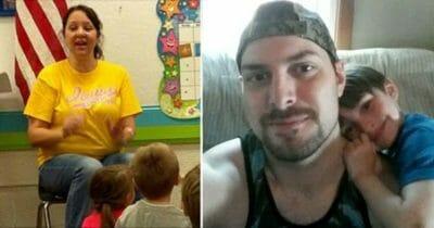 4-latek wyjawia w przedszkolu sekret taty - nauczycielka natychmiast decyduje się na rozmowę z nim