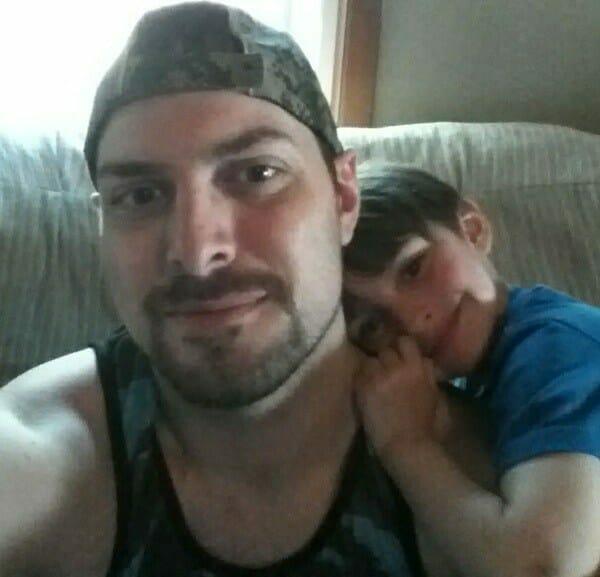 Camden z tatą