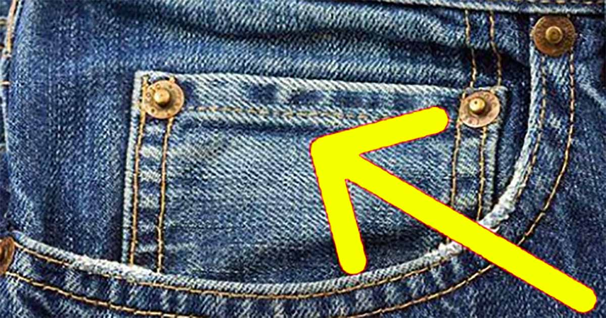 Wiesz dlaczego jeansy mają dodatkową małą kieszonkę? Powód Cię zaskoczy.