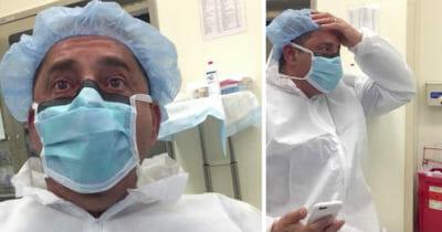 Na świat przyszło szóste dziecko tej pary - po porodzie ojciec spogląda na nie i zaczyna krzyczeć