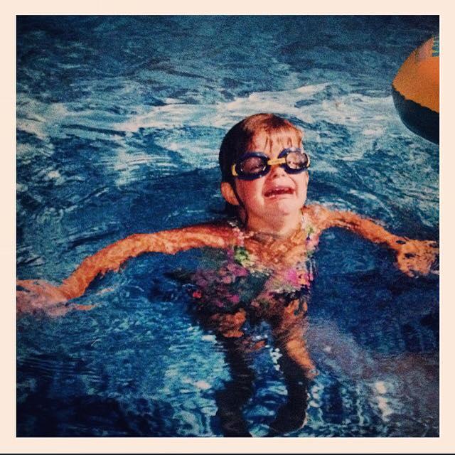Vici pływa